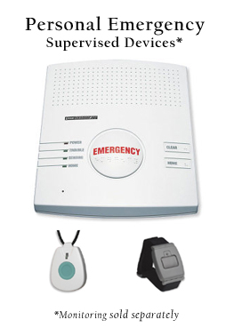 Personal Emergency Devices for Monitoring (PERS)